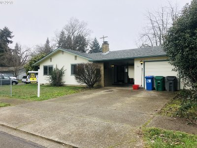 Eugene Single Family Home For Sale: 1617 Brittany St