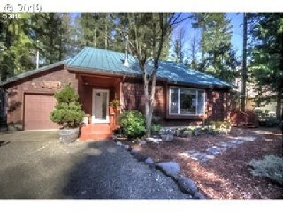 Rhododendron Single Family Home For Sale: 64785 E Sandy River Ln