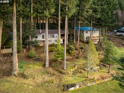 Multnomah County Single Family Home For Sale: 47635 E Hist Columbia River Hwy