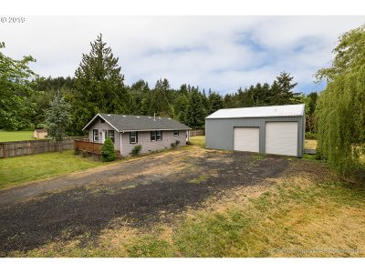 St. Helens Single Family Home For Sale: 31849 Pittsburg Rd