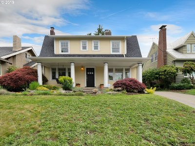 Portland Single Family Home For Sale: 3553 SE Stark St