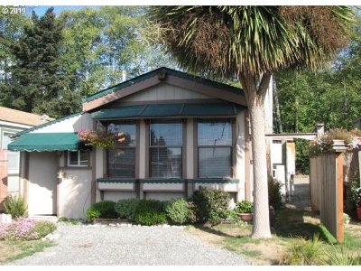 Brookings Single Family Home For Sale: 16117 S Hwy 101 #115