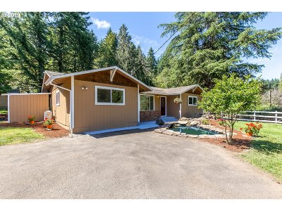 Clackamas County Single Family Home For Sale: 27796 S Highway 211