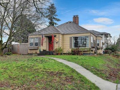 Clackamas County, Multnomah County, Washington County Single Family Home For Sale: 1256 N Rosa Parks Way