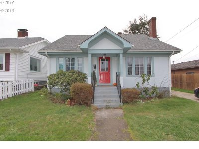 Coos Bay Single Family Home For Sale: 546 S 7th
