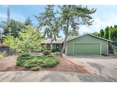 Beaverton, Aloha Single Family Home For Sale: 5869 SW 164th Ct