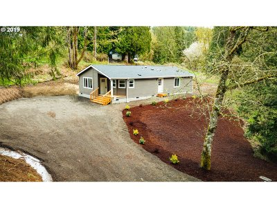 Kalama Single Family Home For Sale: 685 Spencer Creek Rd