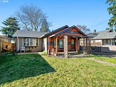 Vancouver Single Family Home For Sale: 3314 S St