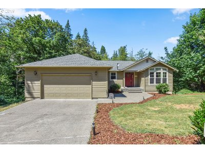 Cowlitz County Single Family Home For Sale: 148 W Canyon View Dr