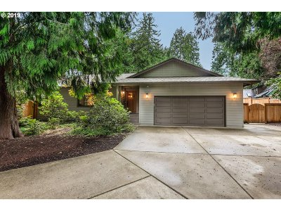 Single Family Home For Sale: 12655 SW 111th Pl