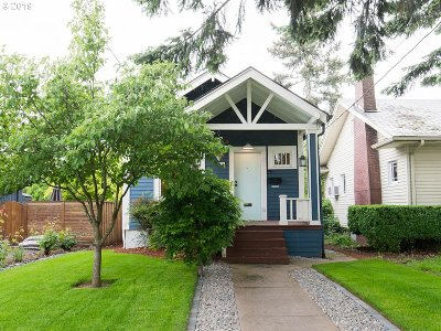 Portland Single Family Home For Sale: 831 N Morgan St