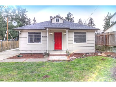 Single Family Home For Sale: 12507 SE Harold St