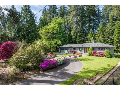 West Linn Single Family Home For Sale: 18725 Old River Dr