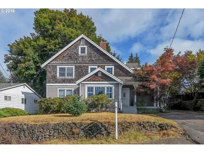 Single Family Home For Sale: 2001 SW Canby St