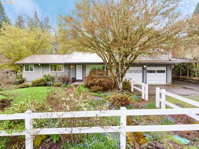 Oregon City Single Family Home For Sale: 19501 S Henrici Rd