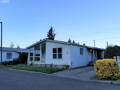 Single Family Home For Sale: 3930 SE 162nd Ave
