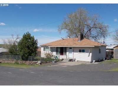 Umatilla County Single Family Home For Sale: 465 SE 3rd St