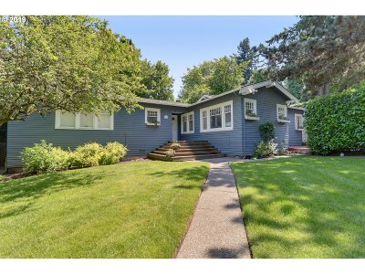 Single Family Home For Sale: 01806 SW Riverdale Rd