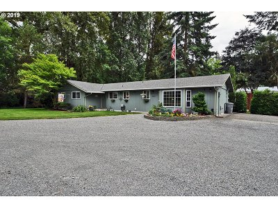 Canby Single Family Home Sold: 9300 S Alder Creek Ln