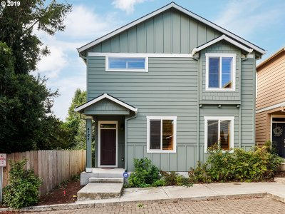 Portland OR Single Family Home For Sale: $499,900