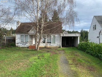 Coquille OR Single Family Home For Sale: $89,900