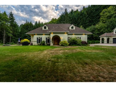 North Plains Single Family Home For Sale: 40811 NW Linklater Rd