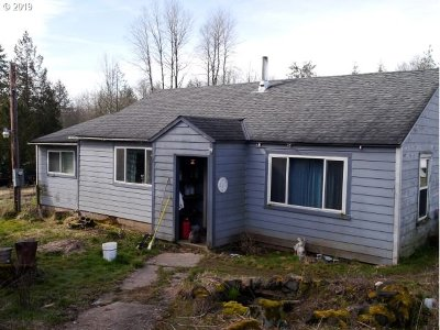 Rainier Single Family Home For Sale: 68455 Barton Rd