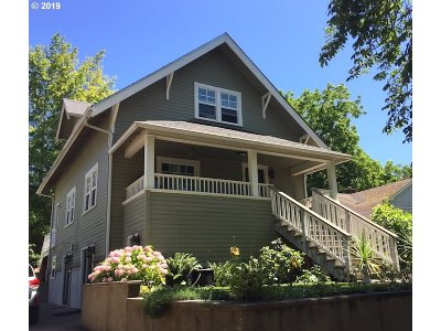 Eugene Single Family Home For Sale: 1801 Orchard St