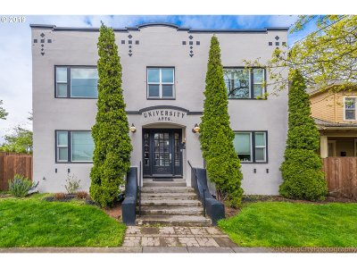 Multnomah County Condo/Townhouse For Sale: 4763 N Lombard St #7