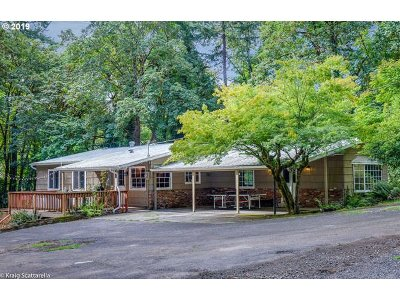 Portland Single Family Home For Sale: 18700 NW Logie Trail Rd