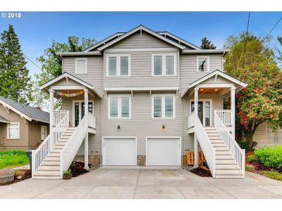 Clackamas County, Multnomah County, Washington County Multi Family Home For Sale: 2028 SE Harold St