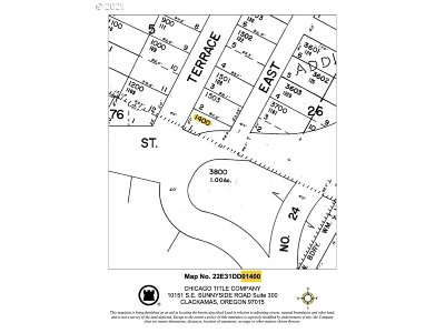 Oregon City, Beavercreek, Molalla, Mulino Residential Lots & Land For Sale: Terrace Ave