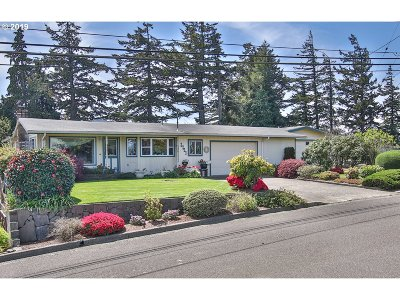 North Bend Single Family Home For Sale: 2293 Lombard St