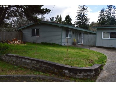 Coos Bay Single Family Home For Sale: 1075 Ocean Bv