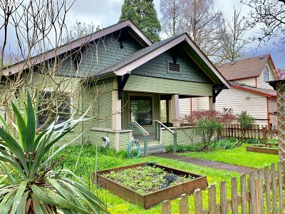 Eugene Single Family Home For Sale: 1125 W 8th Ave