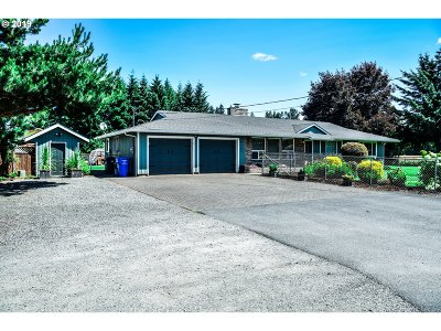 Stayton Single Family Home Pending: 41765 Kingston Jordan Rd