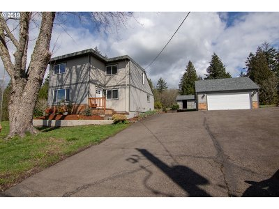 Cowlitz County Single Family Home For Sale: 350 Cunningham Rd