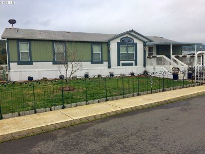 Sutherlin Single Family Home For Sale: 1200 E Central Ave #150