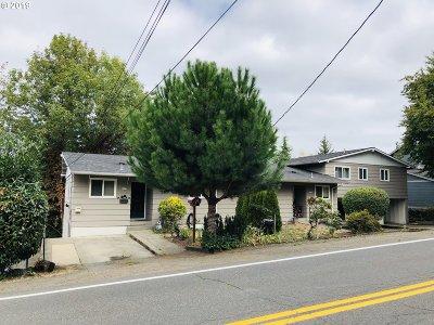 Portland Multi Family Home For Sale: 4023 SW Garden Home Rd