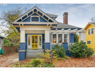 Portland Single Family Home For Sale: 2338 NE 7th Ave