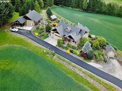 Hillsboro Single Family Home For Sale: 25852 SW Vanderschuere Rd