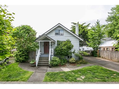 Single Family Home For Sale: 3716 SE Mall St