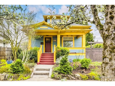 Single Family Home For Sale: 8412 SE 16th Ave