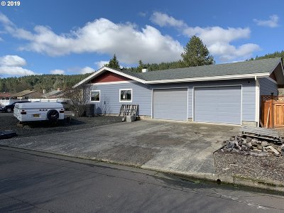 Sutherlin Single Family Home For Sale: 356 Jade St