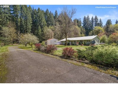 Vernonia Single Family Home For Sale: 57942 Timber Rd