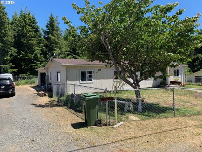 Coos Bay Single Family Home For Sale: 63437 Mobilane Way