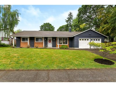 Beaverton Single Family Home For Sale: 7475 SW Wilson Ave