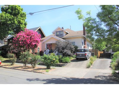 Portland Single Family Home For Sale: 2414 NE 14th Ave