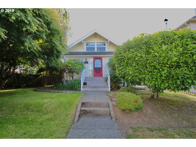 North Bend Single Family Home For Sale: 2534 Sheridan