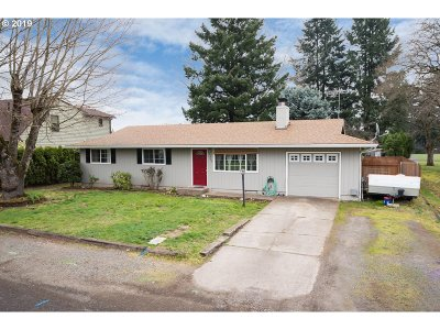 Canby Single Family Home Pending: 1320 N Maple St